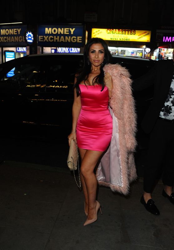 Francine Lewis - Shared Beauty Secrets 10th Birthday Party in London