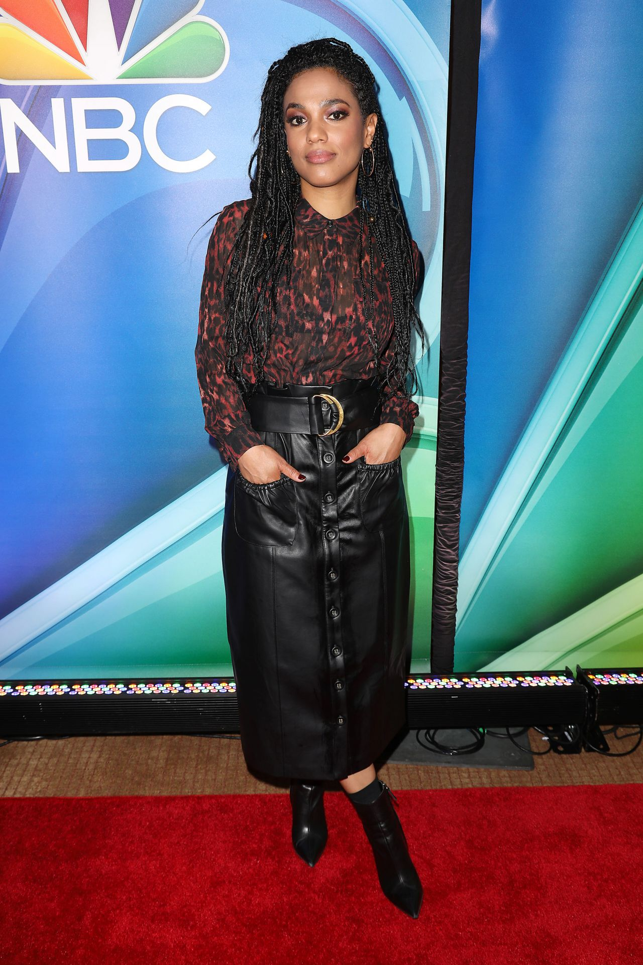 Freema Agyeman Nbc S Ny Mid Season Press Junket 01 24 2019