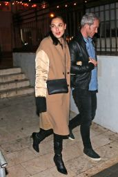Gal Gadot Night Out Style - Tel Aviv 12/31/2018