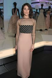 "Gemma Arterton - ""Christian Dior: Designer of Dreams"" Exhibition at The V&A in London"