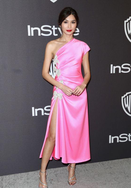 Gemma Chan – InStyle and Warner Bros Golden Globe 2019 After Party