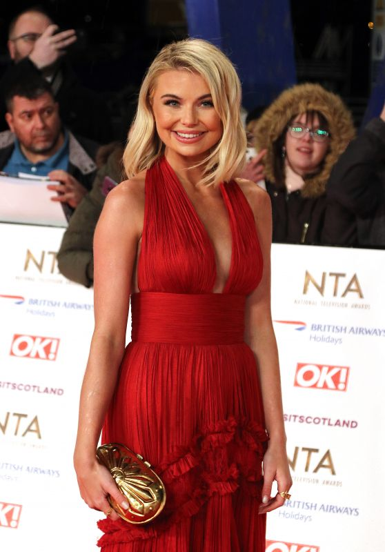 Georgia Toffolo – National Television Awards 2019