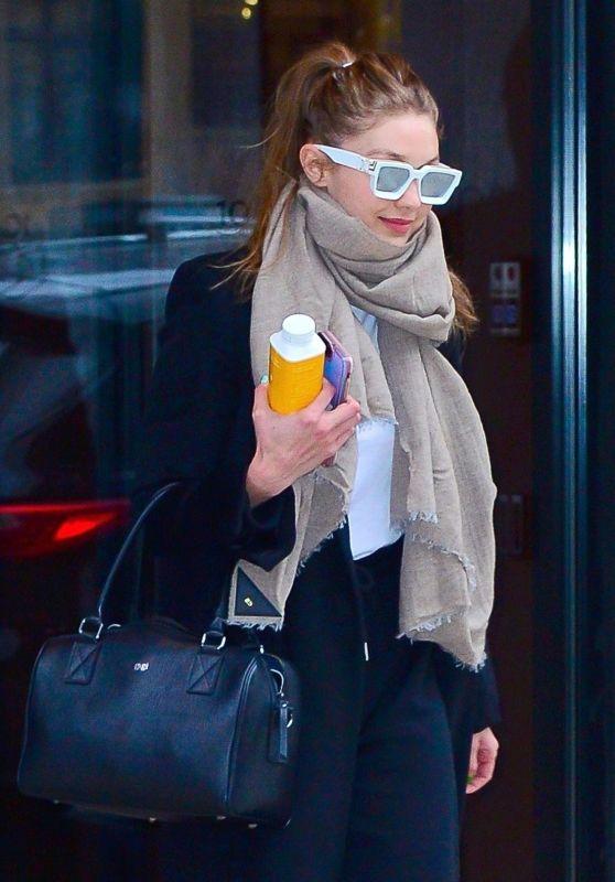 Gigi Hadid Looks Stylish 01/23/2019