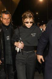 Gigi Hadid - Outside of the Prada Fashion Show in Milan 01/13/2019
