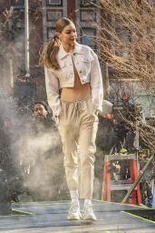 Gigi Hadid - Photoshoot in NYC 01/11/2019
