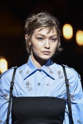 Gigi Hadid - Walks Prada Show in Milan 01/13/2019