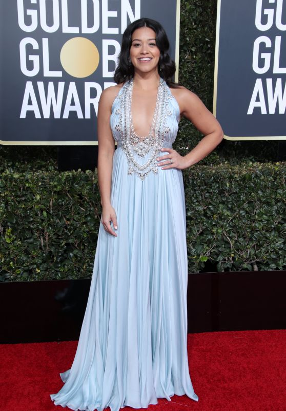 Gina Rodriguez – 2019 Golden Globe Awards Red Carpet