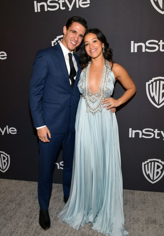 Gina Rodriguez – InStyle and Warner Bros Golden Globe 2019 After Party