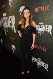 "Giorgia Whigham – ""The Punisher"" Season 2 Premiere in LA"