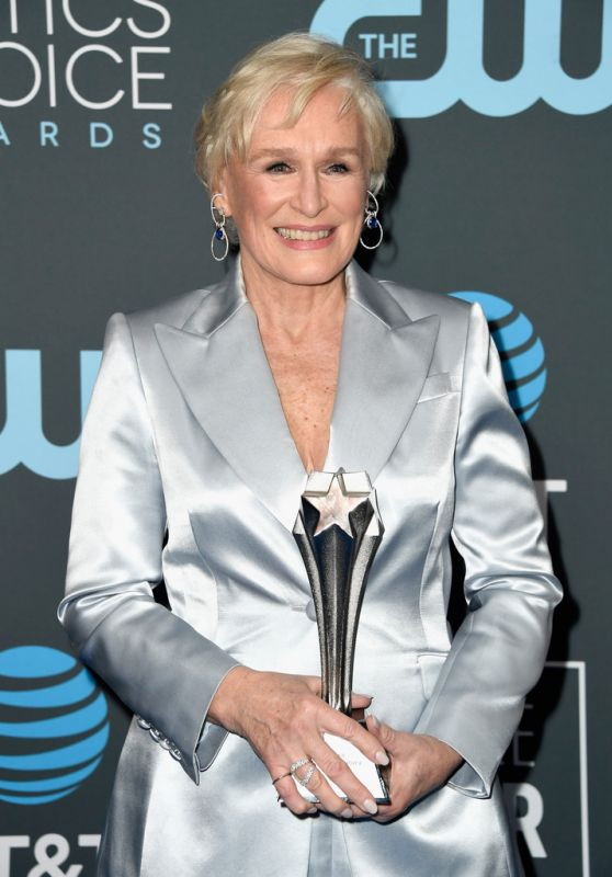 Glenn Close – 2019 Critics' Choice Awards