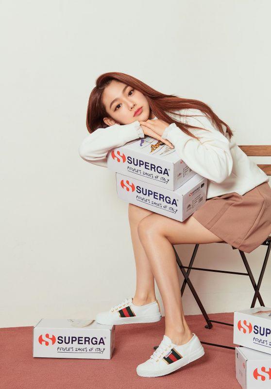 Gugudan Mina - Photoshoot for Superga S/S 2019