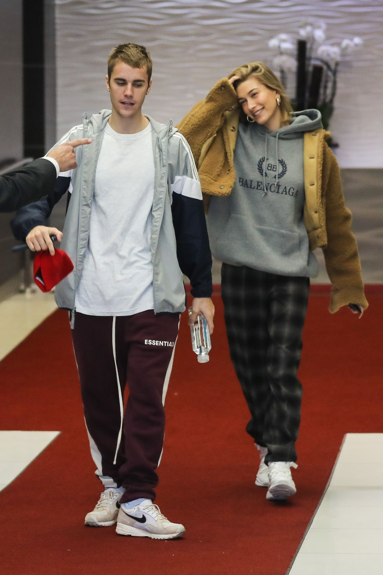 Hailey Rhode Bieber and Justin Bieber - Leave Their Hotel ...