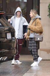 Hailey Rhode Bieber and Justin Bieber - Leave Their Hotel in Beverly Hills 01/07/2019