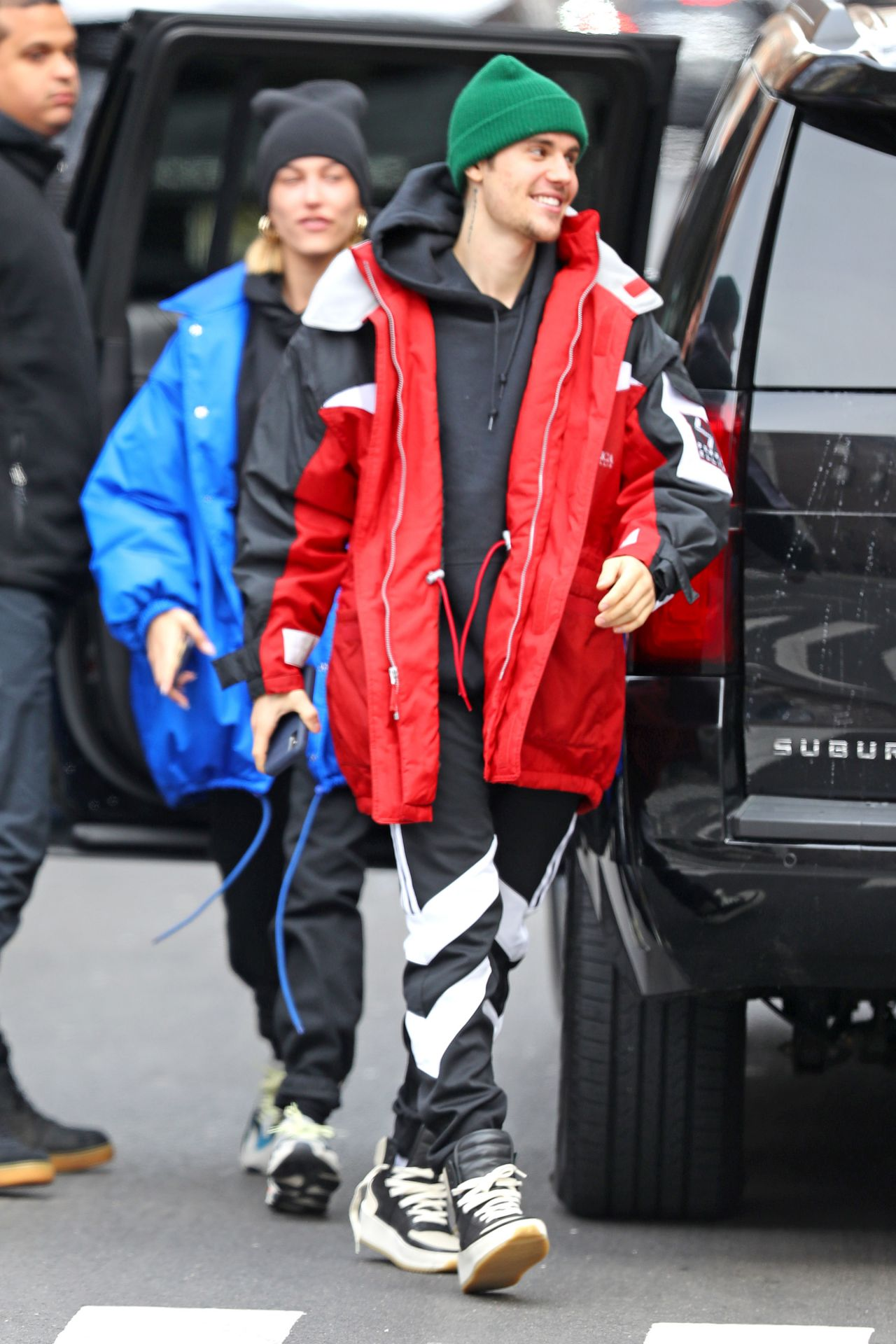 Hailey Rhode Bieber And Justin Bieber Out In New York 01