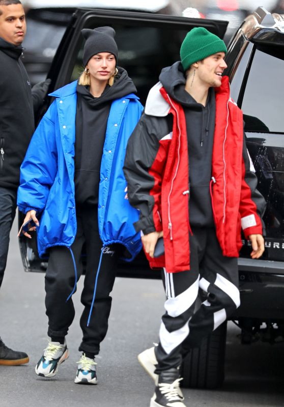 Hailey Rhode Bieber and Justin Bieber - Out in New York 01/28/2019