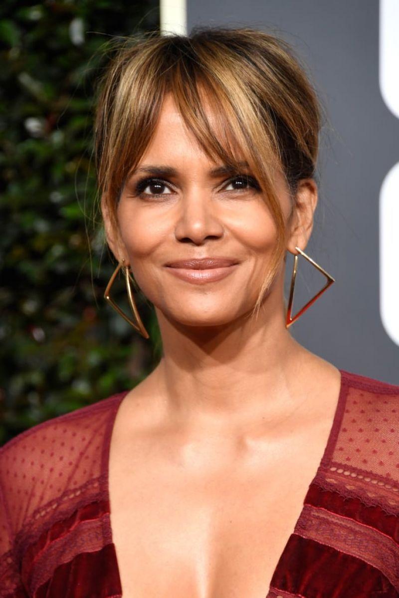 Halle Berry - 2019 Golden Globe Awards Red Carpet