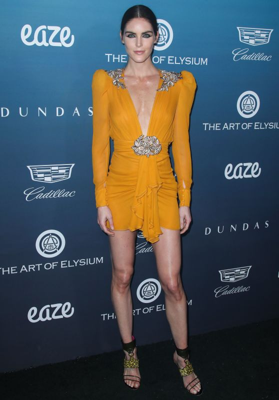 "Hilary Rhoda – The Art of Elysium's 12th Annual ""Heaven"" Gala"
