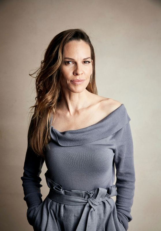 "Hilary Swank – ""I Am Mother"" Portrait Session at the 2019 ..."