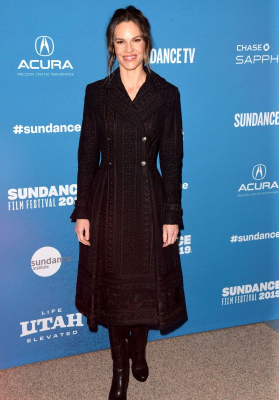 "Hilary Swank - ""I Am Mother"" Premiere at the 2019 Sundance Film Festival"
