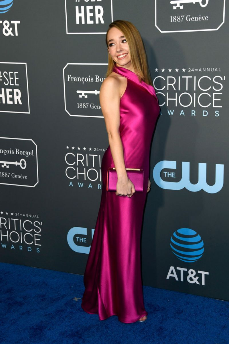 Holly Taylor 2019 Critics Choice Awards
