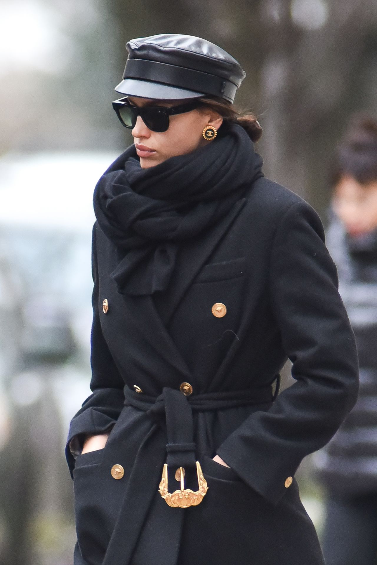 irina shayk out in new york 01 19 2019. Black Bedroom Furniture Sets. Home Design Ideas