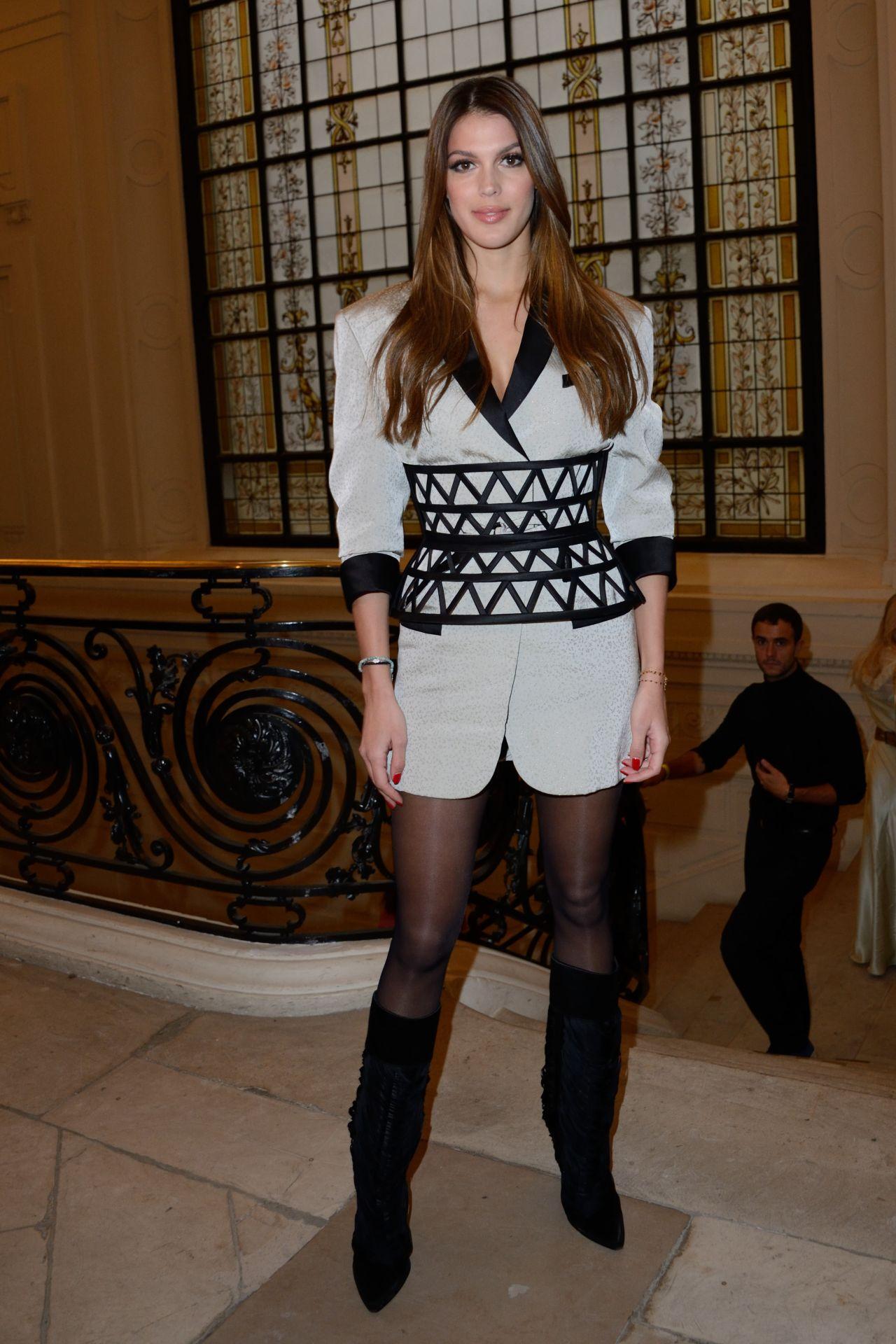 Iris Mittenaere Jean Paul Gaultier Fashion Show In Paris