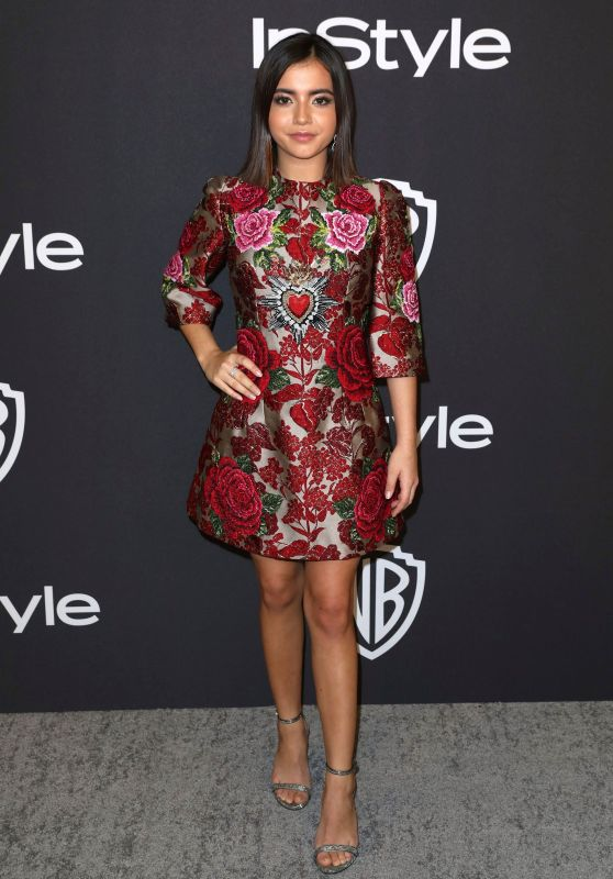 Isabela Moner - InStyle and Warner Bros Golden Globes 2019 After Party
