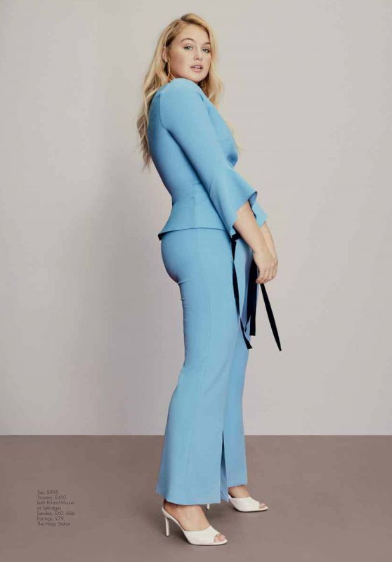 Iskra Lawrence - Hello! Fashion Monthly February 2019
