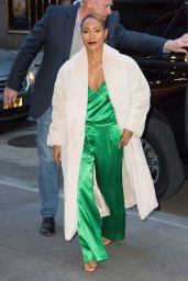 Jada Pinkett Smith Looks Stylish - New York 01/21/2019