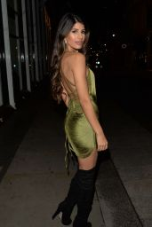 Jasmin Walia Night Out Style - London 01/13/2019