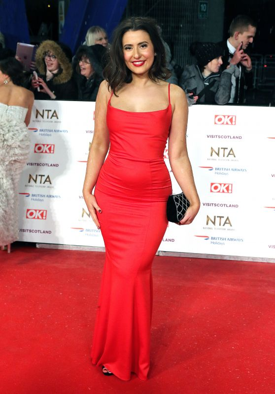 Jasmine Armfield – National Television Awards 2019