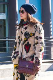 Jenna Coleman Winter Street Style 01/11/2019