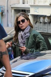 Jennifer Aniston - Leaving a Nail Salon in Beverly Hills 01/19/2019