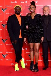 Jennifer Hudson - The Voice UK TV Show Launch in London 01/03/2019