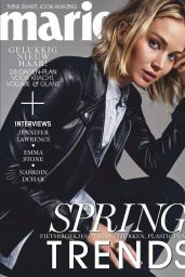 Jennifer Lawrence - Marie Claire Netherlands February 2019