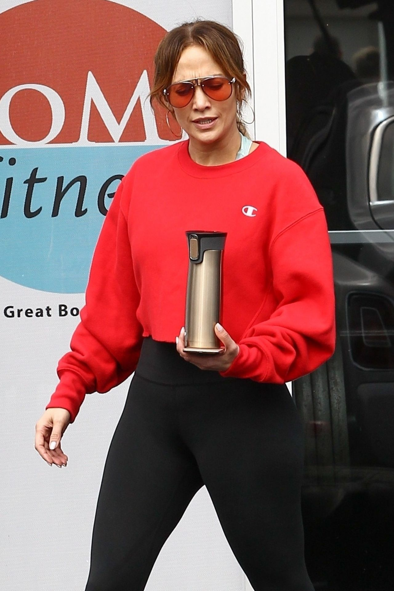 Jennifer Lopez Hit The Gym In Miami 01 23 2019