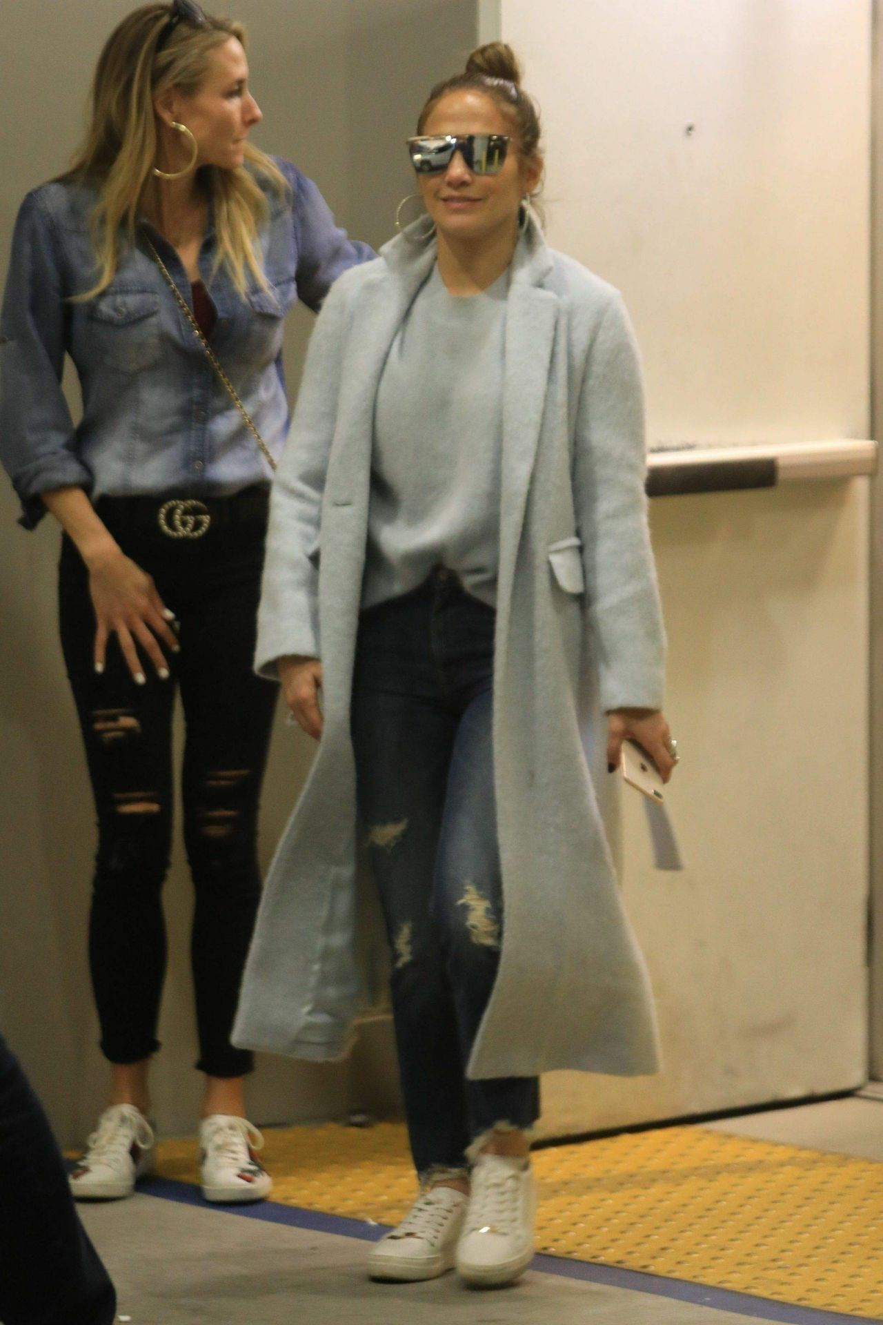 223be18cf91 Jennifer Lopez - Shopping at Tom Ford Store in Beverly Hills 12 31 2018
