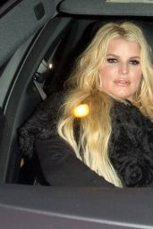 Jessica Simpson - Leaving The Roxy Theatre in LA 01/18/2019
