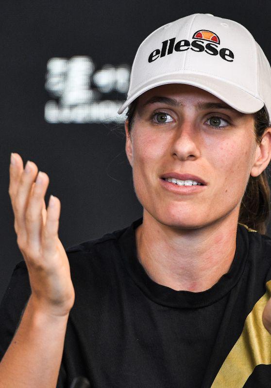 Johanna Konta - Australian Open 2019 Press Conference in Melbourne 01/11/2019