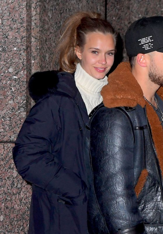 Josephine Skriver - Out in New York 01/14/2019