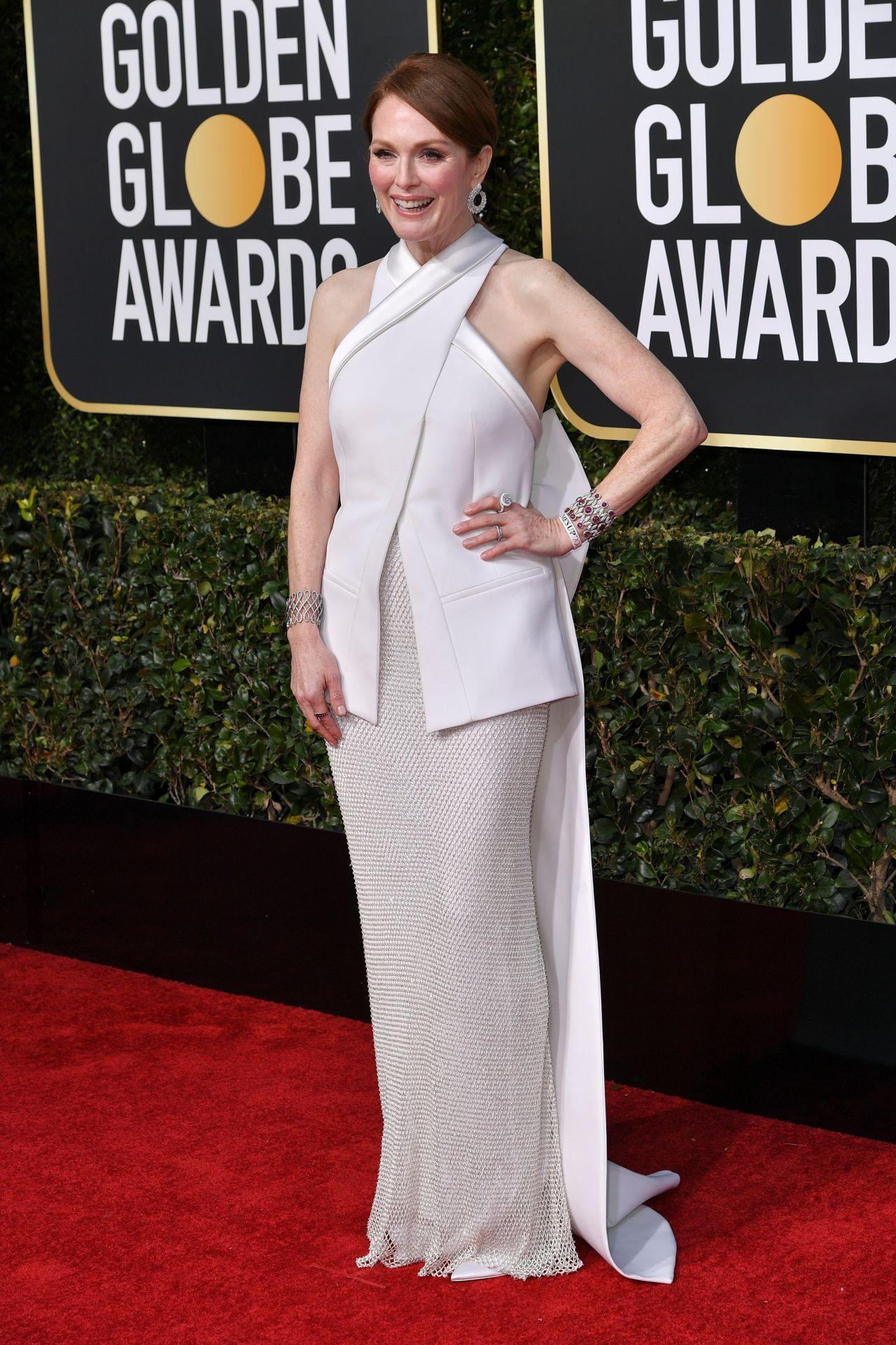 Julianne Moore 2019 Golden Globe Awards Red Carpet