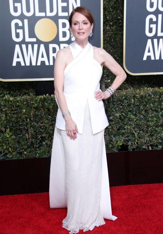 Julianne Moore – 2019 Golden Globe Awards Red Carpet