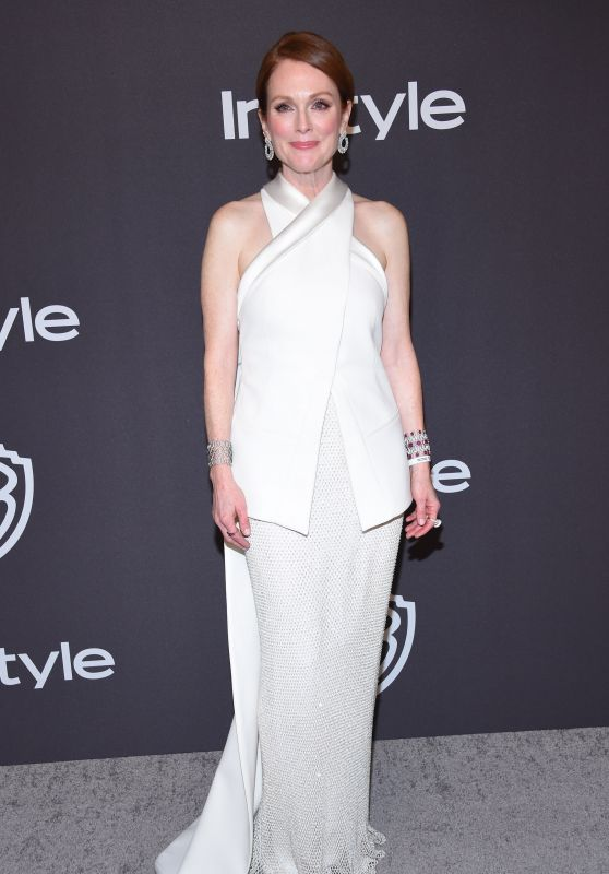 Julianne Moore – InStyle and Warner Bros Golden Globe 2019 After Party