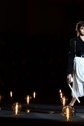 Kaia Gerber – Walks Prada Show in Milan 01/13/2019