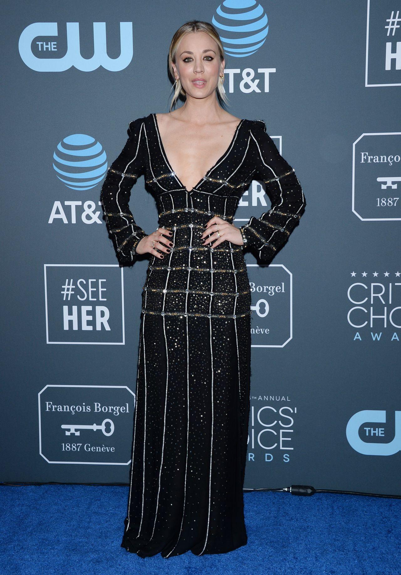 Kaley Cuoco – 2019 Critics' Choice Awards