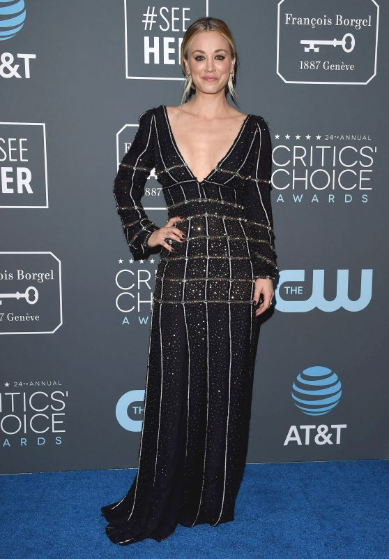 Kaley Cuoco – 2019 Critics' Choice Awards