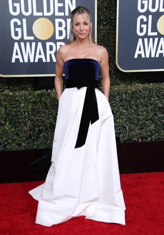 Kaley Cuoco – 2019 Golden Globe Awards Red Carpet