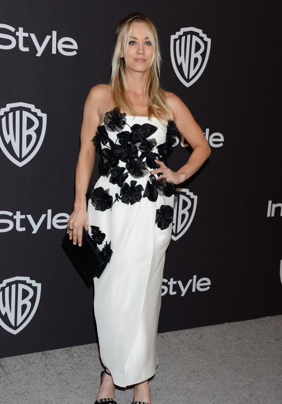 Kaley Cuoco – InStyle and Warner Bros Golden Globes 2019 After Party