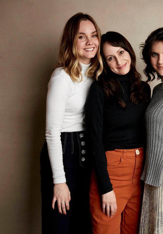 "Kara Hayward and Liana Liberato - Sundance Film Festival ""To the Stars"" Portrait Session"