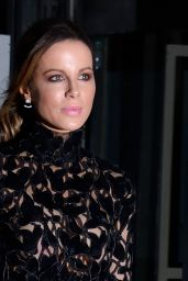Kate Beckinsale – Giambattista Valli Haute Couture Spring-Summer 2019 Show in Paris